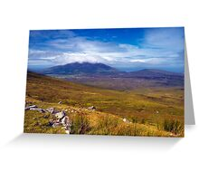 Achill Island Greeting Card