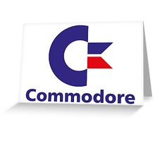 Commodore Greeting Card