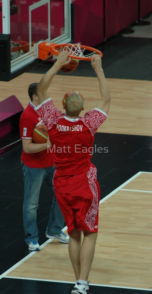 Slam dunk by Matt Eagles