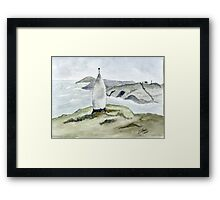 The Beacon West Cork Framed Print