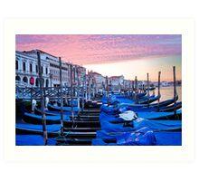Sunrise in Venice I Art Print