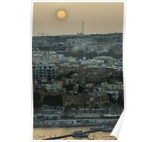 Valletta Sundown Poster