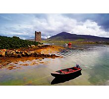 Granuaile's Tower Achill Photographic Print