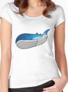 Wailord - Pokémon Art Women's Fitted Scoop T-Shirt