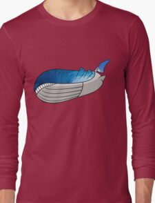 Wailord - Pokémon Art Long Sleeve T-Shirt