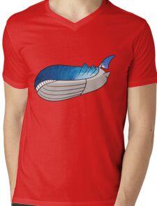 Wailord - Pokémon Art Mens V-Neck T-Shirt