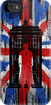 UK flag 10th doctor by bomdesignz