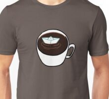 The Little Paper Boat In The Great Cup Of Failed Perspective Unisex T-Shirt