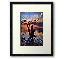 Sunset On Steroids Framed Print