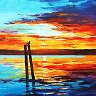 Swansea Sunset by Graham Gercken