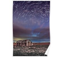Shed & Star Trail Poster