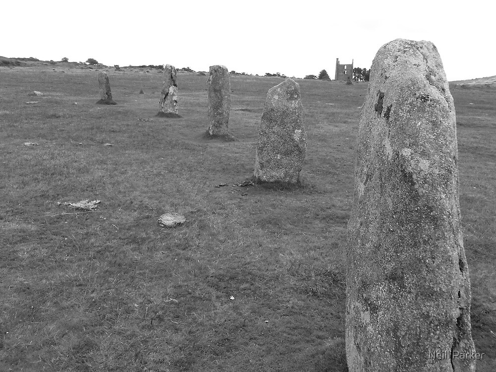Hurlers Stone Circle by Neill Parker