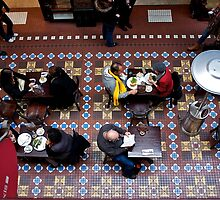 Lunch in Gallery_ Old Arcade, Sydney by mypic