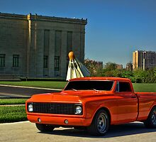 1971 Chevrolet C10 Custom Pickup Truck by TeeMack