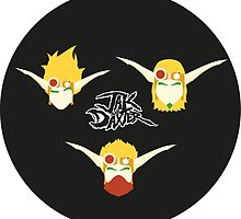 Jak & Daxter Trilogy by mrstreetus