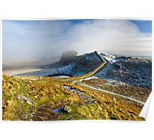 Mystical Hadrian's Wall Poster