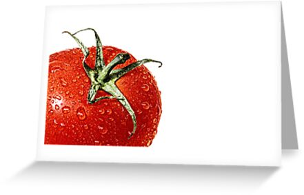 Elections or a fresh tomato salad... by Bob Daalder