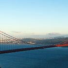 Golden Gate Bridge at Sunset by mattiaterrando
