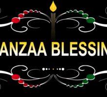 kwanzaa blessings Sticker