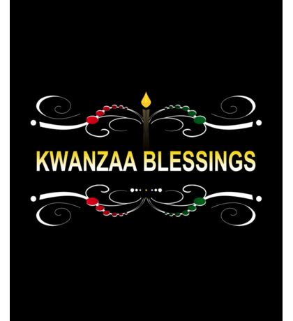 kwanzaa blessings Sticker