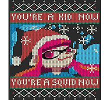 Knitted Ugly Sweater Splatoon Girl from Splatoon Photographic Print