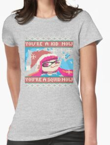 Knitted Ugly Sweater Splatoon Girl from Splatoon Womens Fitted T-Shirt