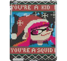 Knitted Ugly Sweater Splatoon Girl from Splatoon iPad Case/Skin