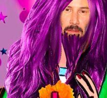 Keanu Jesus Unadulterated  Sticker