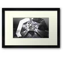 Shadier Pale Of Gray Framed Print