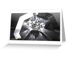 Shadier Pale Of Gray Greeting Card
