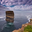 Dun Briste, Downpatrick Head, Co.Mayo by Michael Walsh