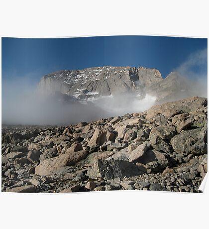 Long's Peak Poster