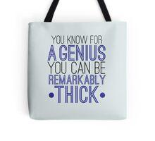 Sherlock the genius  Tote Bag