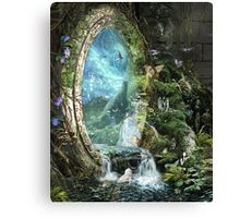 The Swift of Spring Portal Canvas Print