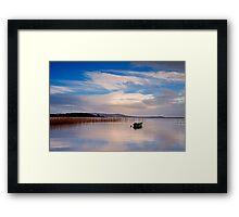 Pontoon Co.Mayo Framed Print