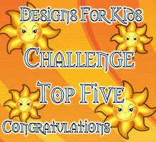 Designs For Kids .. top five banner by LoneAngel
