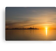 TO Sunrise - Bright, Bold and Beautiful  Canvas Print
