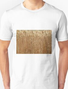 Details of a barley field with single spikes. T-Shirt