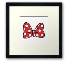 It's Minnie! Framed Print