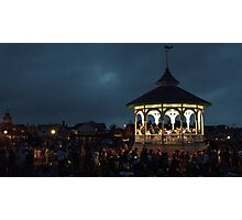 Concert At The Gazebo Photographic Print