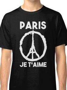 Paris Je t'aime - I LOVE YOU Classic T-Shirt