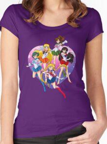 Bishoujo Senshi Women's Fitted Scoop T-Shirt