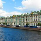 Winter Palace of the Tsars - A Summer Perspective by Mary-Elizabeth Kadlub