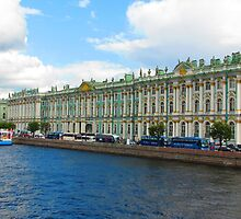 Winter Palace of the Tsars - A Summer Perspective by M-EK