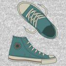 Funky Doodle Converse by Anastasiia Kucherenko