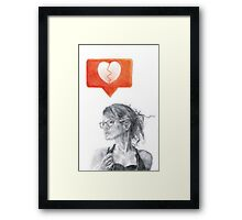 Another Song about Heartbreak Framed Print