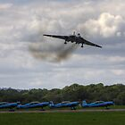 The Vulcan at Dunsfold Aerodrome. by Shane Ransom