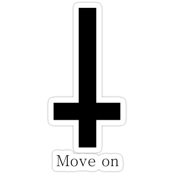 Move on Inverted cross by Rowlz