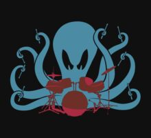Octo Drummer One Piece - Short Sleeve