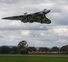 Vulcan Bomber Gear Down. by Shane Ransom